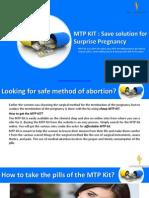 (MTP KIT) Save Solution for Surprise Pregnancy