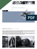 introduction to architecture portfolio