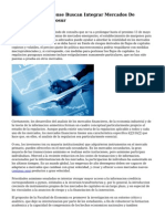 La Noticia Bonaerense Buscan Integrar Mercados De Capitales Del Mercosur