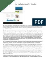 Soorten Van De Netto-Marketing Voor Uw Website