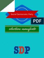 Social Democrats Manifesto - British Isles