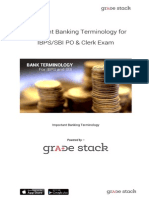 Banking Terminology for IBPSSBI Exam