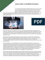 Articulos Y Documentales Sobre La Realidad Economica Espanola