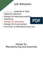 Design for assembly