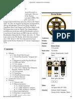 Boston Bruins - Wikipedia, The Free Encyclopedia