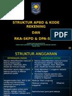 Bab 8 Struktur Kode Rekening Dan Teknis Rka