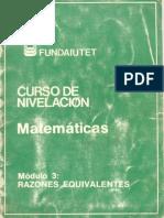 matematica razones equivalentes