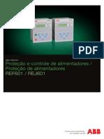 Relé de Proteção e Controle REF601_REJ601 ABB - Catálogo_PT.pdf