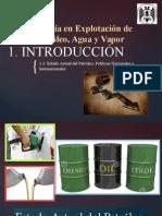 1.3. Estado Actual Del Petróleo y Políticas - Geología