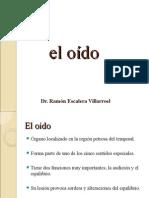 Anatomia Y Fisiologia de Oido