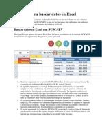 Fórmula Para Buscar Datos en Excel