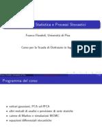 Statistica per Dottorato, lezione 1
