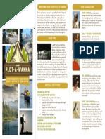 Camp Plot-a-wanna Brochure