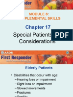 Special Patients and Considerations