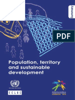 CEPAL Population, Territory and Sustainable Development