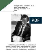 Lyotard - Postmodernidad