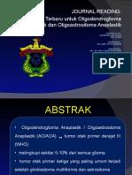 journal reading oligoastrocytoma