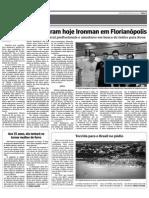 Limeirenses encaram hoje Ironman em Florianópolis