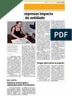 Crise em empresas impacta  patrocínio de entidade