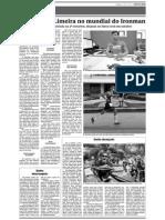 Triatleta de Limeira no mundial do Ironman