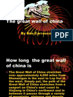 The Great Wall of China-Ben