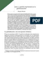 Boisier S Conocimiento y Gestion Territorial en La Globalizacion