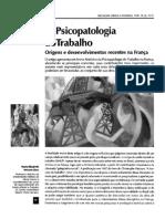 Texto 2 - A Psicopatologia Do Trabalho