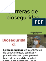 Barreras de Bioseguridad