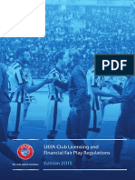 UEFA Licensing and Financial Fair Play (2015)