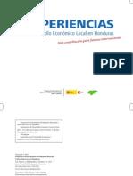 Experiencias de Desarrollo Económico Local en Honduras