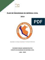 Plan de Seguridad en Defensa Civil - Unife