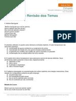 Portugues Exercicios Revisao Temas Trabalhados 16-19-06 2015