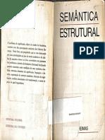 Semântica Estrutural (a. J. Greimas)