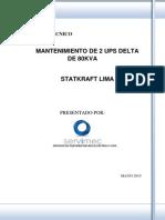 Informe Técnico - Mantenimiento de UPS´s DELTA .pdf