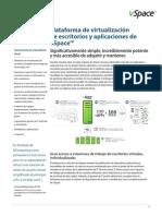 Datasheet VSpace Desktop and Application Virtualization Platform (ES) 280995