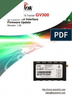 GV300 @Track Air Interface Firmware Update V1 00   Server (Computing