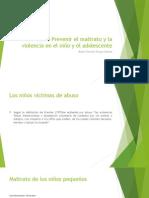 Cómo Prevenir El Maltrato y La Violencia