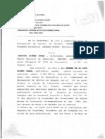 Designacion de Arbitro de Derecho