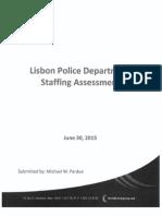 Lisbon Police Personnel Study