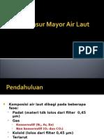 Unsur-unsur Mayor Air Laut