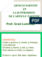 "L""Article Partitif"