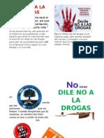 DILE NO A LA DROGAS
