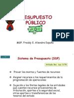 7 Presupuesto Publico