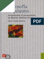 La Filosofía Del Quiasmo- Introducción a Merlau-ponty
