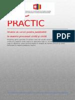 Ghid Practic Procedura Civila Si Civila, Familiei, Muncii Cu Decizia CC