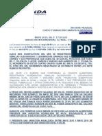 Canasta Alimentaria Mayo 2015-Cendas