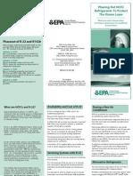 EPA R-22 Brochure