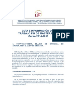 Guía TFM
