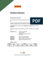 ASFALTOS DILUIDOS