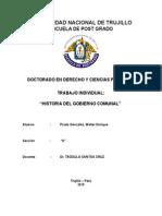 Historia Del Gobierno Comunal
